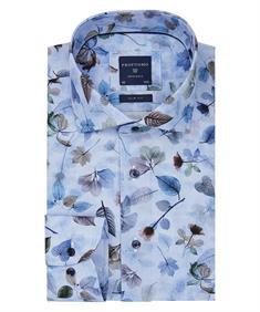 Profuomo overhemd Slim Fit ppqh3a1065 in het Blauw
