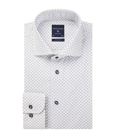 Profuomo overhemd Slim Fit PPQH4A0003 in het Wit