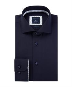 Profuomo overhemd Slim Fit PPQH4A0004 in het Marine