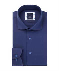 Profuomo overhemd Slim Fit PPRH1A1045 in het Marine