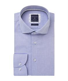 Profuomo overhemd Slim Fit PPRH1A2002 in het Blauw