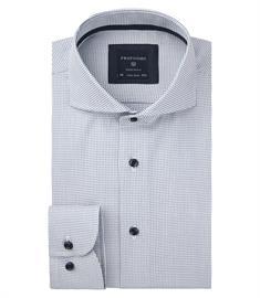 Profuomo overhemd Slim Fit PPRH3A1020 in het Marine