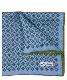 Profuomo pochet PPON10008A in het Blauw