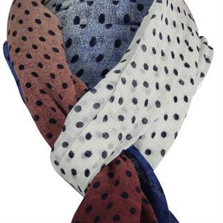 Profuomo sjaals PPNS10009B in het Blauw