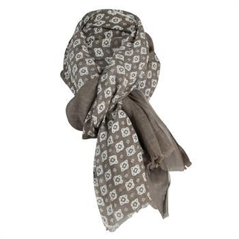 Profuomo sjaals PPNS10022B in het Spierwit