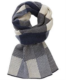 Profuomo sjaals PPQS30005H in het Blauw