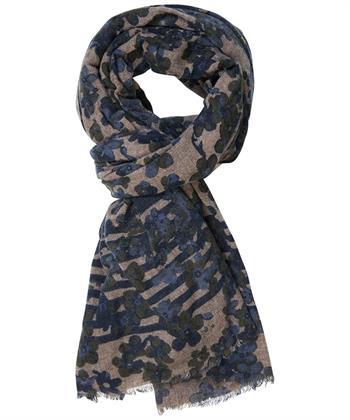 Profuomo sjaals PPQS30011B in het Blauw
