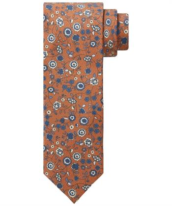 Profuomo stropdas PPRA3A025D in het Oranje
