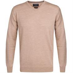 Profuomo truien PP0J00208 in het Khaky beige