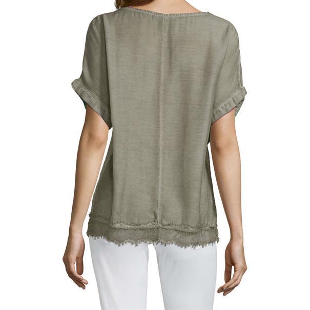 public blouse 8050-8149 in het Groen
