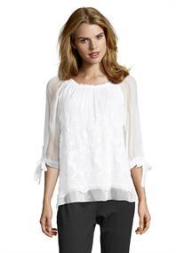 public blouse 8076-8368 in het Wit
