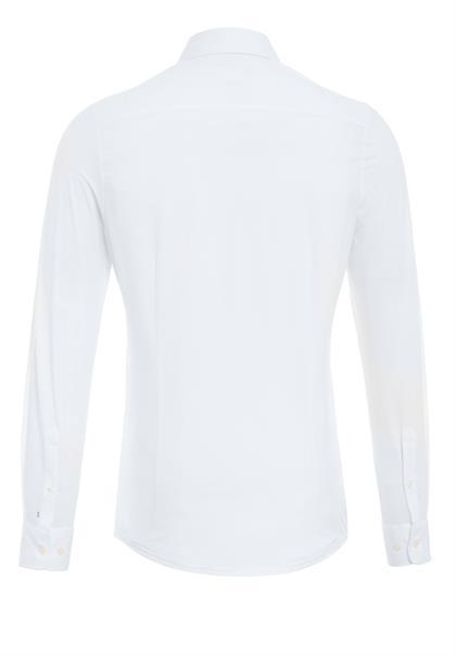Pure overhemd Slim Fit 4030-21750 in het Wit