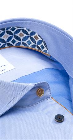 R2 business overhemd 112.WSP.133/018 in het Licht Blauw