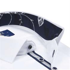R2 overhemd 106wsp024/004 in het Wit