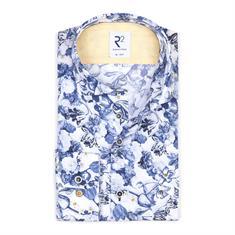 R2 overhemd 108.wsp.030/014 in het Blauw