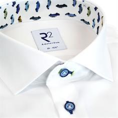 R2 overhemd 108.wsp.049/004 in het Wit