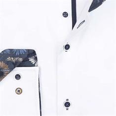 R2 overhemd 108.wsp.081/004 in het Wit/Blauw