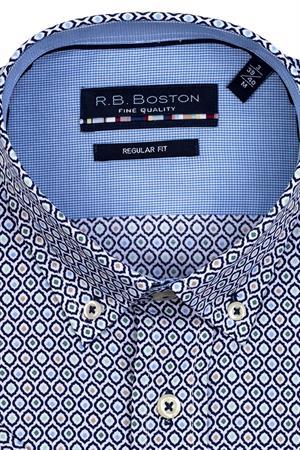 RB Boston overhemd Regular Fit 116670 in het Army