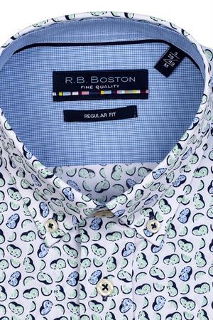 RB Boston overhemd Regular Fit 116670 in het Lime