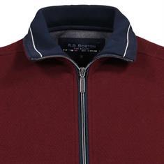 RB Boston truien Regular Fit V922226 in het Donker Rood