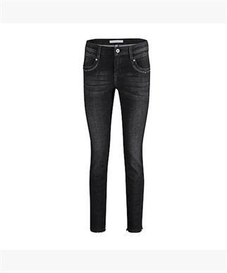 Red Button jeans 2884 sissy black in het Zwart