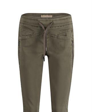 Red Button pantalons 2869 Tessy jog in het Groen