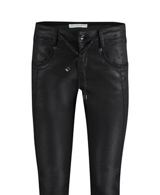 Red Button pantalons 2902 relax coatin in het Zwart