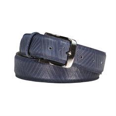 Rehab riem belt-zigzag419 in het Blauw