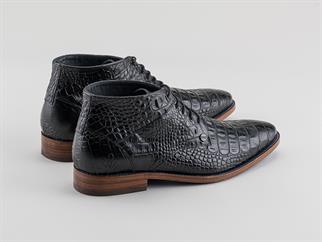 Rehab schoenen barry-croco in het Zwart