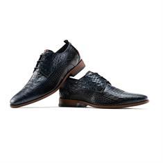 Rehab schoenen greg-croco-vnz in het Donker Blauw
