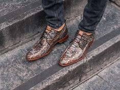 Rehab schoenen greg-snakefantasy in het Bruin