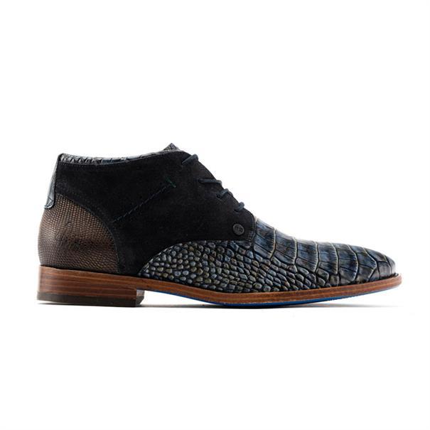 Rehab schoenen salvador-croco in het Blauw