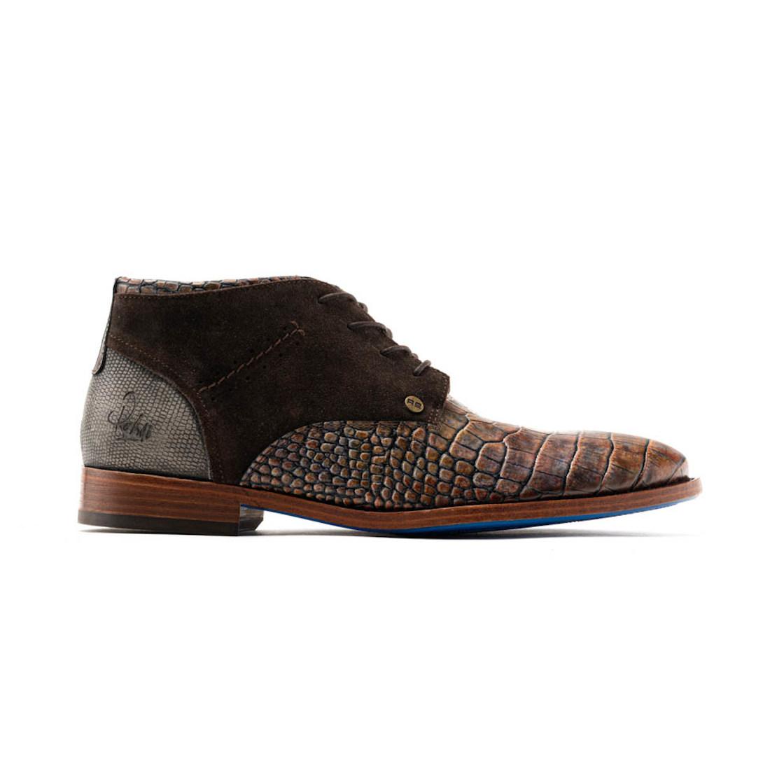Rehab schoenen salvador-croco in het Bruin