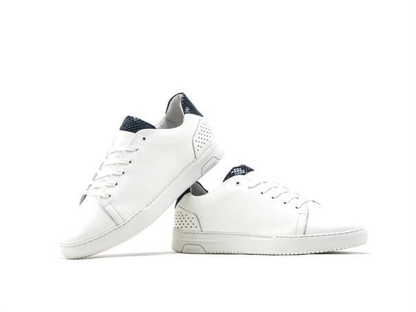 Rehab schoenen TEAGAN BS lizard in het Wit/Blauw