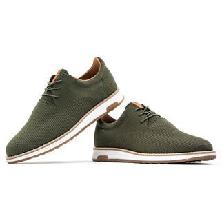 Rehab sneakers Nolan-knit in het Donker Groen