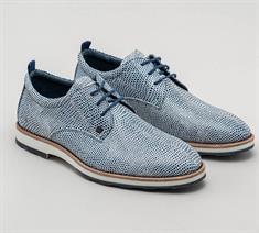 Rehab sneakers Posato-lizard-121 in het Wit/Blauw