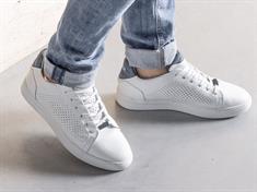 Rehab sneakers tiago-perfo in het Wit/Blauw