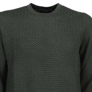 ronde hals trui star in het Groen