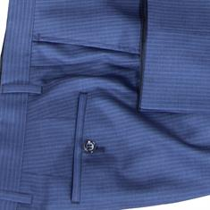 Roy Robson broek Slim Fit 5018/S-  -0240- in het Donker Blauw