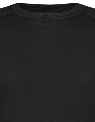 Saint Steve ronde hals trui Elias in het Zwart