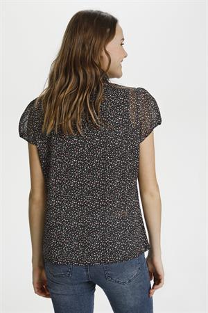 Saint Tropez blouse 30510263 in het Blauw