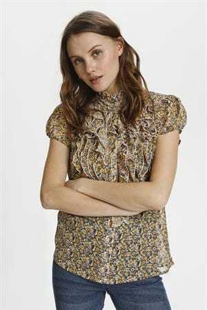Saint Tropez blouse 30510263 in het Licht Groen