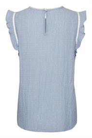 Saint Tropez blouse 30510269 in het Licht Blauw