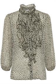 Saint Tropez blouse 30510392-6 in het Groen