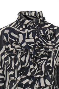Saint Tropez blouse 30510392 in het Blauw
