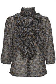 Saint Tropez blouse 30510392 in het Grijs