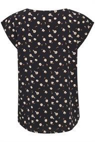 Saint Tropez blouse 30510424 in het Donker Blauw