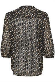 Saint Tropez blouse 30510513 in het Zwart