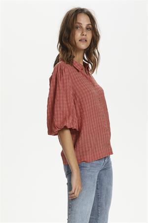 Saint Tropez blouse 30511308 in het Oud Roze