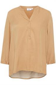 Saint Tropez blouse jill in het Camel